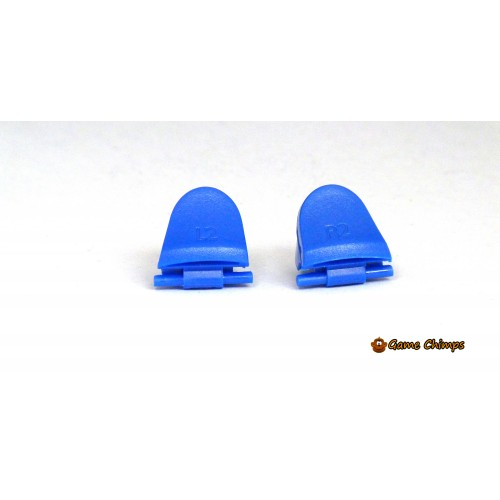 Replacement Buttons Blue Custom Mod Kit For PS4 Controller