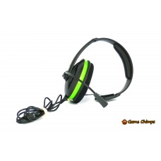 Turtle Beach Ear Force XC1 Xbox 360 Headset - Black and Green