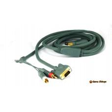 Xbox 360 VGA Component Audio Cable & 2RCA