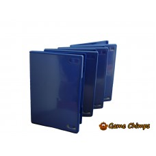 5 x Replacement PS2 Blue Game Cases / Boxes *Grade B